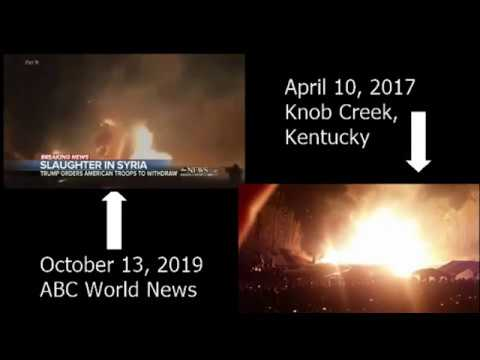 ABC World News FAKE Syria Bombing Video (Oct 13, 2019)