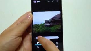 AQUOS PHONE SERIE ISW16SH(フォトスタジオ)
