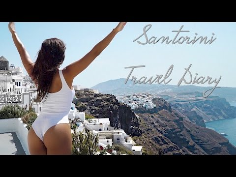 Santorini Travel Diary, A Must Go Destination!! | Simeon Panda | Chanel Coco Brown