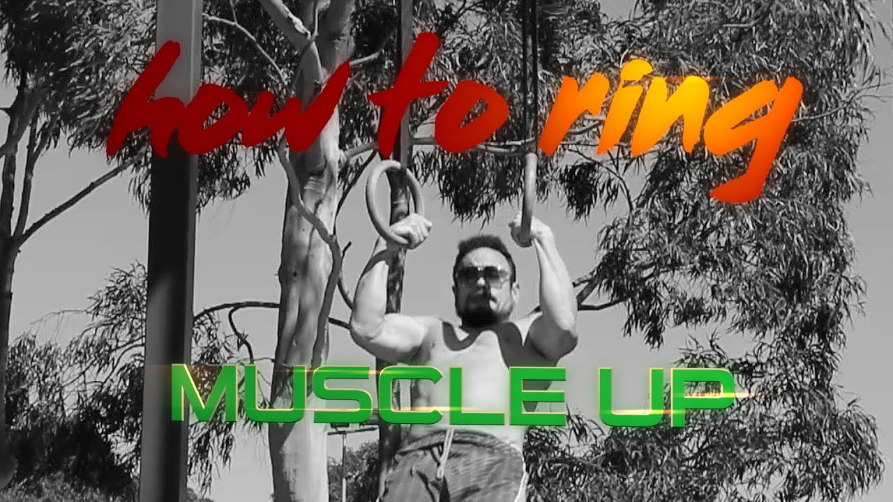 How to get your first Ring Muscle up