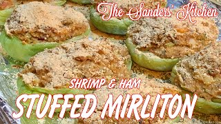 STUFFED MIRLITONS WITH SHRIMP AND HAM  A NEW ORLEANS STYLE RECIPE