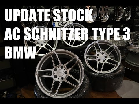REVIEW VELG AC SCHNITZER TYPE 3 BMW ORIGINAL | KNWHEELS STOCK UPDATE + REVIEW
