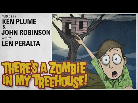 There's A Zombie In My Treehouse!  as read by James Urbaniak