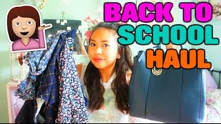 HUGE TRY-ON BACK TO SCHOOL CLOTHING HAUL 2015