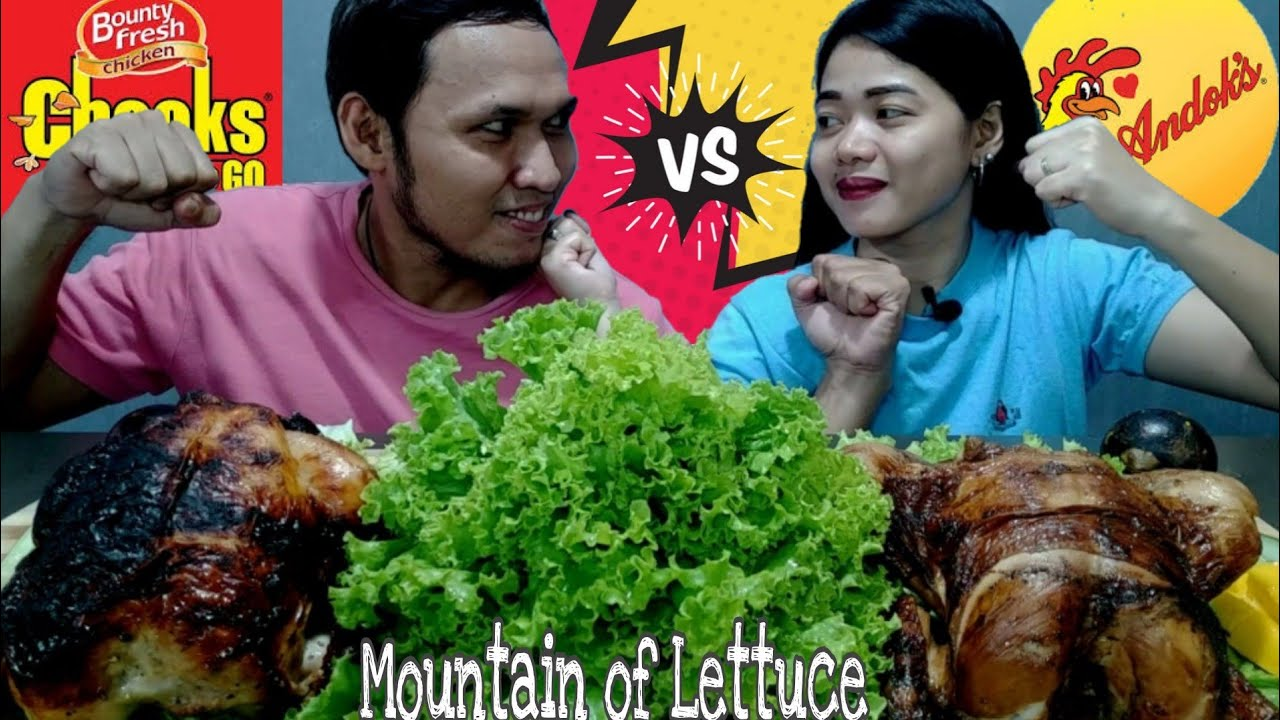 BATTLE OF LECHON MANOK x MOUNTAIN OF LETTUCE / ANDOKS VS CHOOKS / COLLAB WITH HAPPYBOY'S FOODTUBE