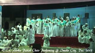celestial church of christ comforter cathedral akoka parish 1 choir at imeko 2013