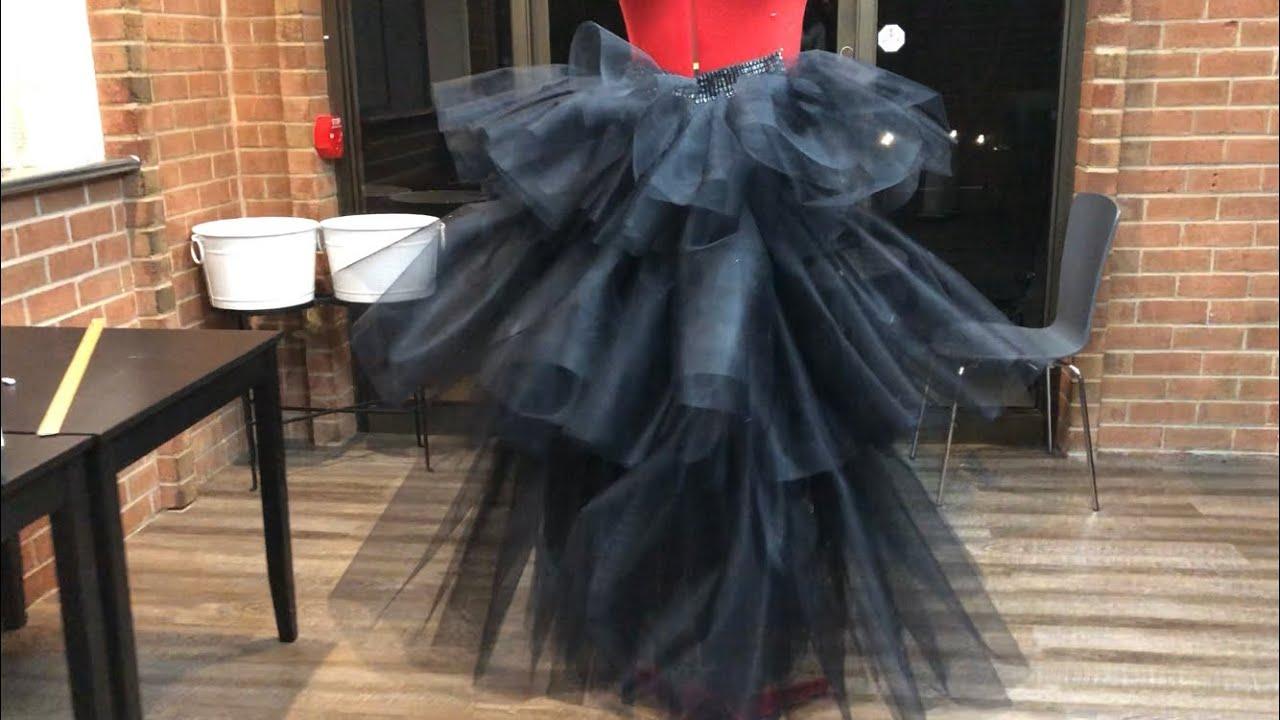 317783b02f DIY High Fashion multi   3 Layered Tulle  Tutu Skirt - YouTube
