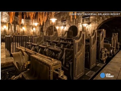 Exclusive Peek Inside Universal S New Harry Potter Ride Youtube