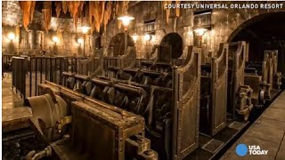 Repeat youtube video Exclusive peek inside Universal's new Harry Potter ride