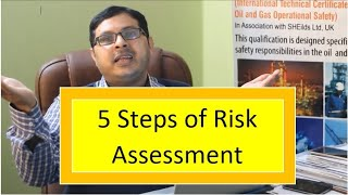 The Five Steps Guide to Risk Assessment (In Urdu/Hindi)