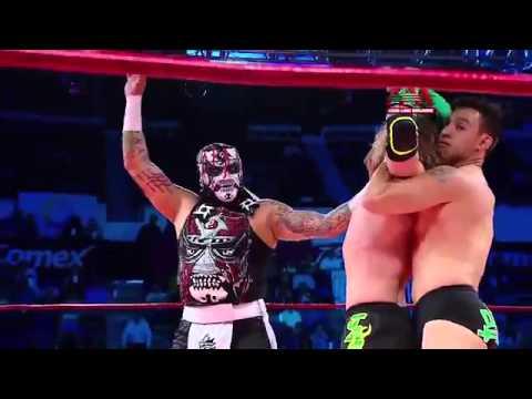 Lucha Libre AAA Worldwide Jack Evans, Australian Suicide & Argenis vs Pentagón Jr., Daga & Joe Lider