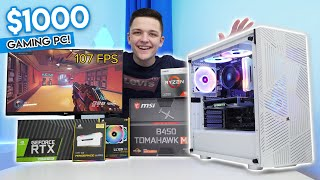 Today i'm going to be showing you how build a killer 4k gaming pc for $1000 budget in 2020! i'll also running through performance benchmarks f...