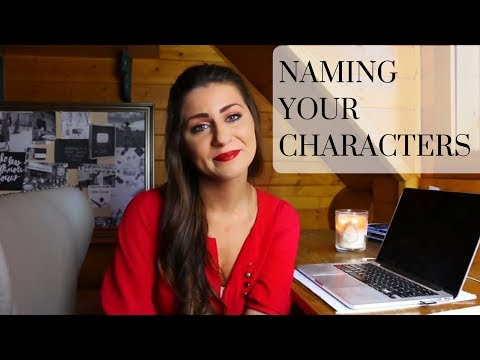 How to Name Your Characters