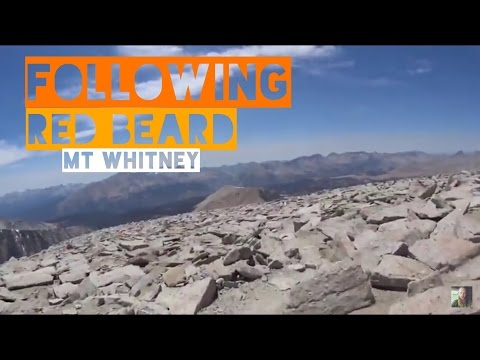 Pacific Crest Trail - Mt Whitney