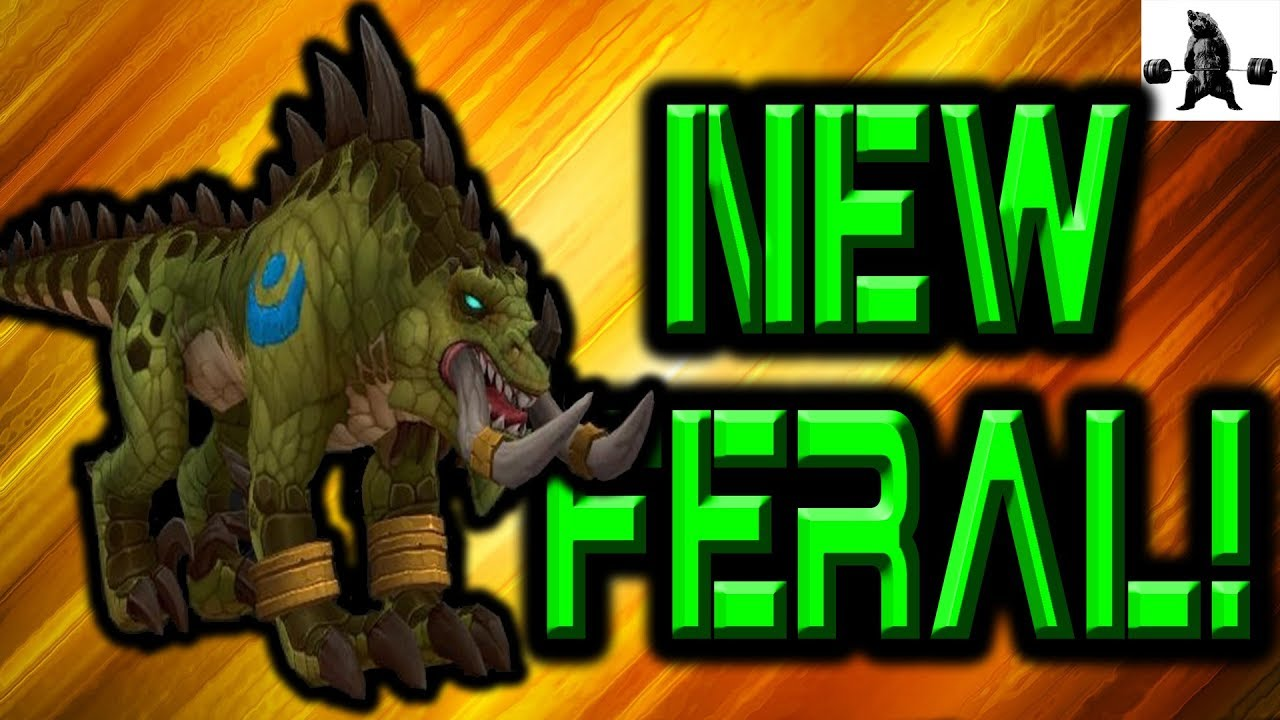 how to get new feral forms