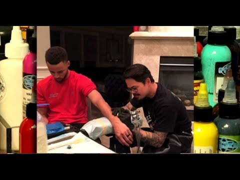 Talking shop with nino lapid steph curry 39 s pinoy tattoo for Does steph curry have tattoos