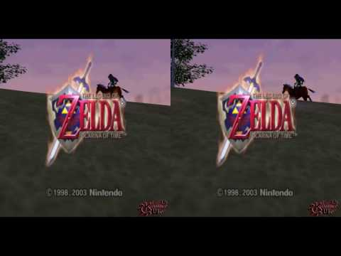 Let's Play Zelda Ocarina Of Time VR #1
