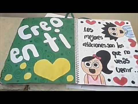 Regalo para mi novio ♥ Libreta ♥ Ideas ♥
