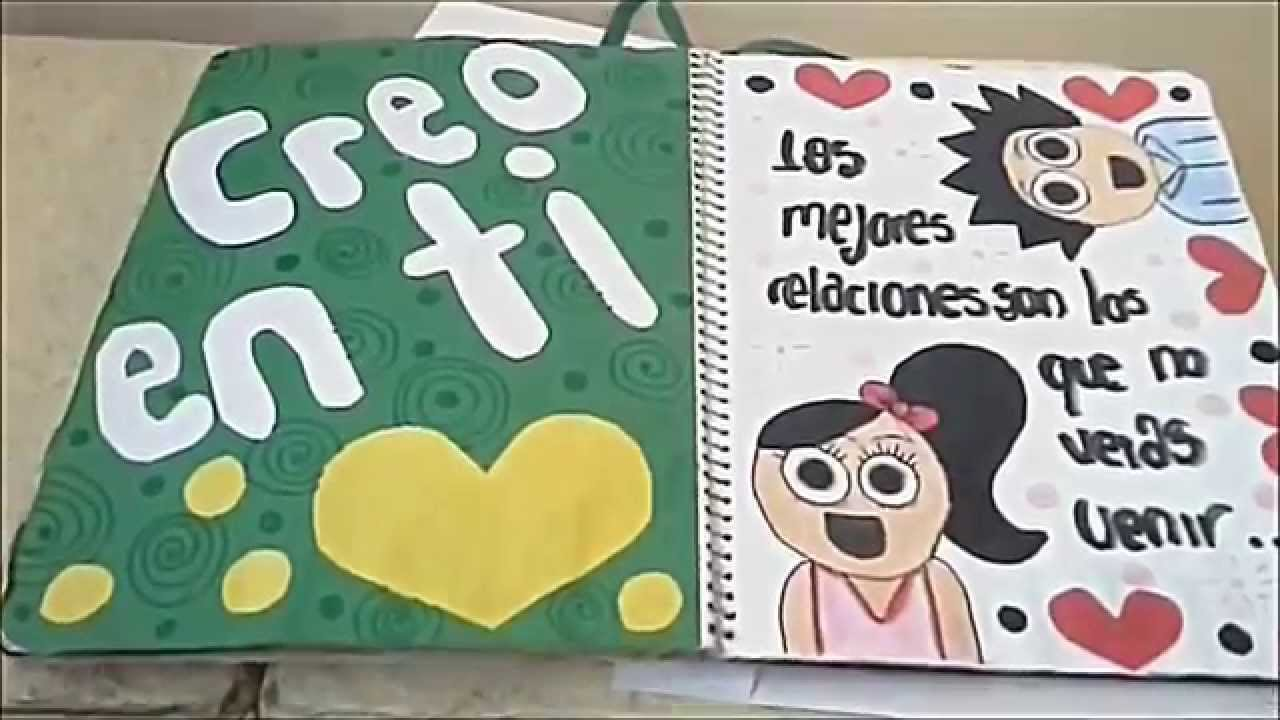 Regalo para mi novio u2665 Libreta u2665 Ideas u2665 YouTube
