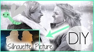 DIY: Silhouette Picture Thumbnail