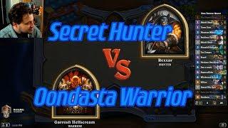 Oondasta Warrior vs Secret Hunter - Hearthstone