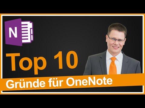 Top 10 Gründe für OneNote