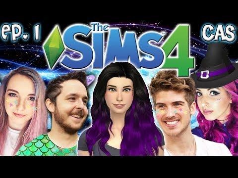 The Sims 4: Raising MAGICAL YouTubers - Ep 1 (Create A Sim & House Build)