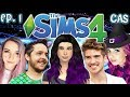 The Sims 4: Raising MAGICAL YouTubers - Ep 1 (Create A Sim & House Build)