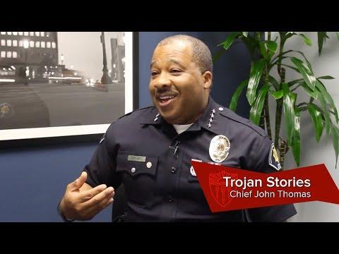 Chief John Thomas's USC journey comes full circle