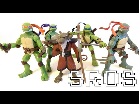 Sros Playmates Tmnt Teenage Mutant Ninja Turtles 2007 Movie