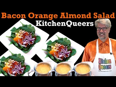 Kitchen Queers Bacon Orange Almond Salad Tutorial (S4E7N67-HD)