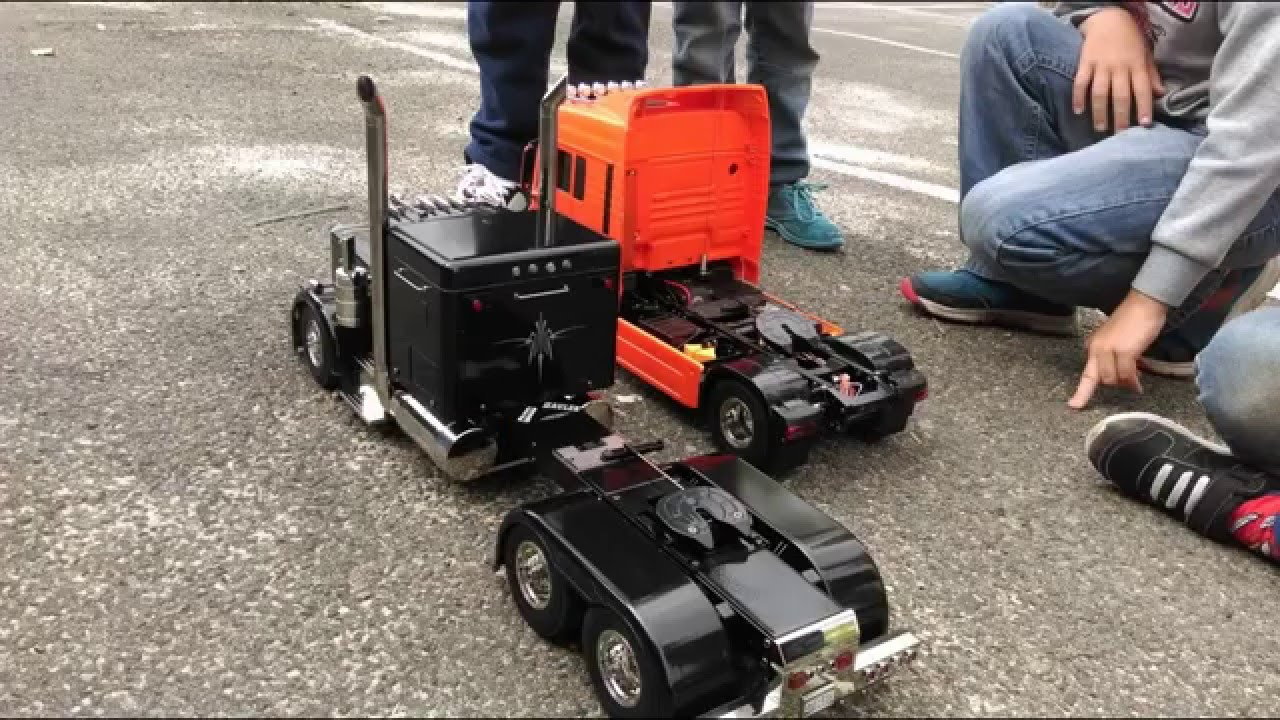 Grand Max Modification >> mon grand hauler rc 2015 - YouTube