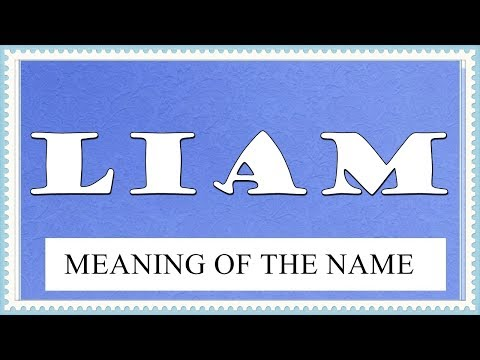 NAME LIAM - FUN FACTS AND MEANING OF THE NAME