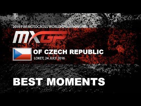 MXGP Best Moments MXGP of Czech Republic 2016