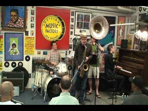 John Ellis & Double Wide @ Louisiana Music Factory JazzFest 2010