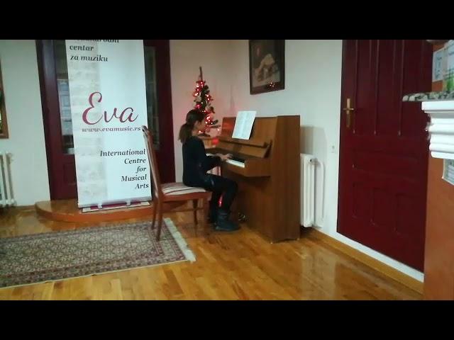 Christmas Concert 2018: Anastassia, piano, Grade 2