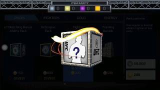 Ufc Mobile Opening Fighter Pack