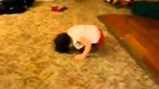 Baby joget break dance