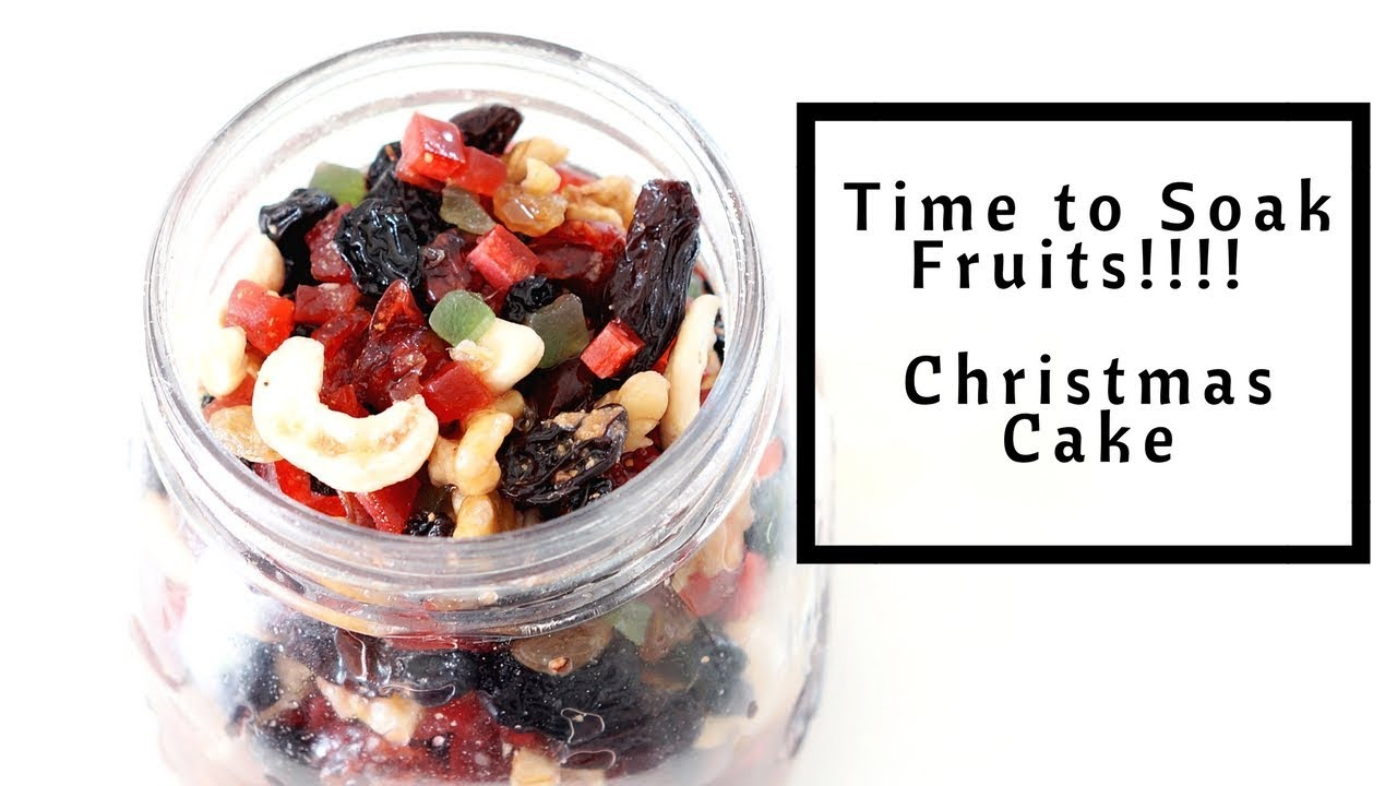 How To Make A Rich Fruit Cake Without Alcohol