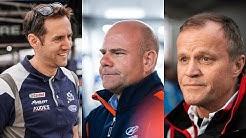 WRC Team Bosses - Tommi Mäkinen, Andrea Adamo, Richard Millener