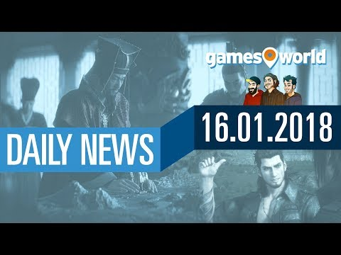 Devil May Cry 5, FF15 PC-Release, Fortnite, Total War | Gamesworld Daily News - 16.01.2018