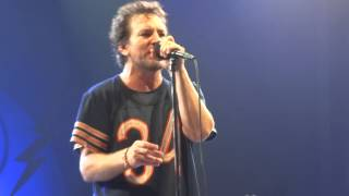 pearl jam indifference amsterdam 16 06 2014