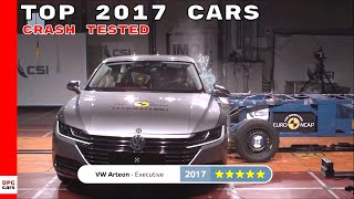 Top 2017 Cars Crash Tested By Euro NCAP