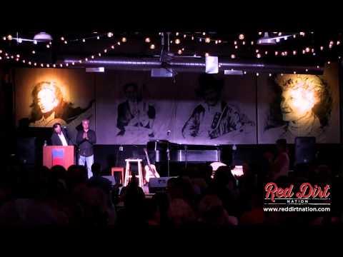 John Fullbright accepts Rising Star Award - Oklahoma Music Hall of Fame