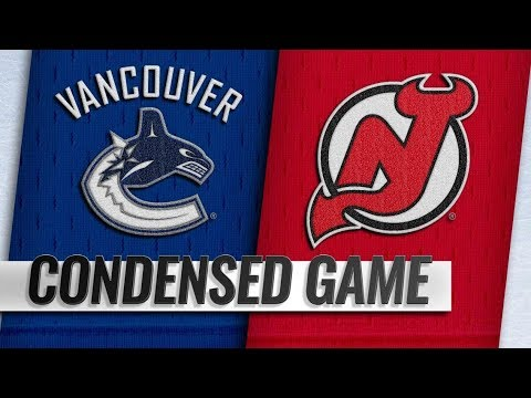 Vancouver Canucks vs New Jersey Devils | Dec.31, 2018 | Game Highlights | NHL 2018/19 | Обзор Матча