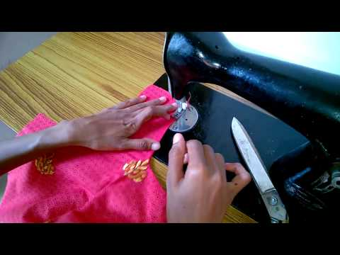 Churidar cutting and stiching easy method  part-2