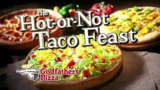 Godfather's Pizza Hot Or Not Taco Feast