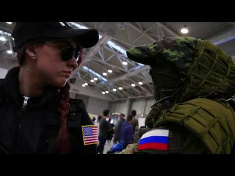 Romics 2019 RAINBOW SIX SIEGE |Rainbow Six Cosplay Italia|