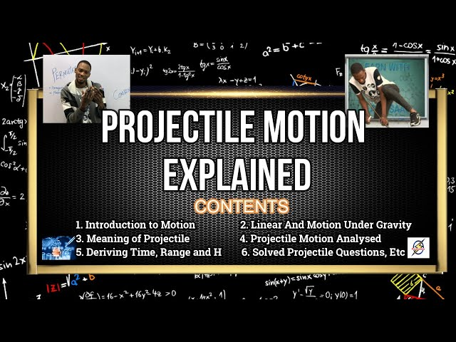 Projectile Motion in Physics (Explained With Examples)