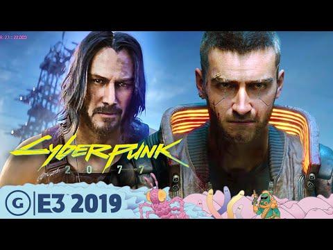 How Cyberpunk 2077 Got Keanu Onboard | E3 2019